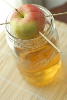 Apple infused vodka