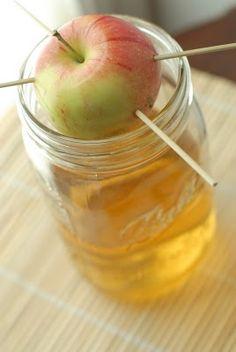 Apple infused vodka