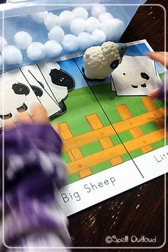 Little Bo Peep  Sheep Sort Activity and Printable