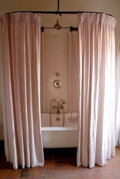 Lovely shower curtain.