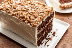 German Chocolate Cake.. coconut, chocolate, and pecans. What's not to love?!