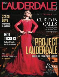Jaimie Hilfiger on the cover of Fort Lauderdale Magazine
