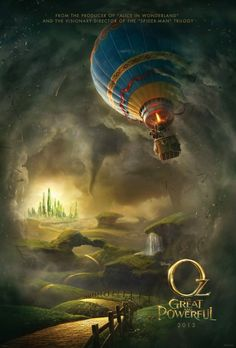 Oz: The Great and Powerful (2013)   can't wait for this one in 3 D IMAX spring!