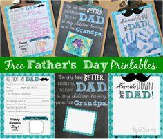 free father, father day, printabl