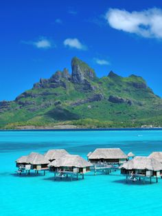Bora- Bora is a perfect spot for a destination wedding!