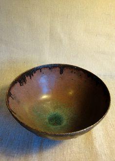 Olia Lamar - Wheelthrown stoneware bowl.
