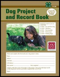 4 h dog project
