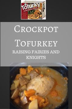 Crockpot Tofurkey- T