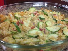 Zucchini, Chicken & Rice Casserole