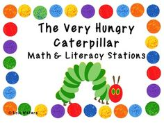 This math & literacy unit can be used as part of an author study or for stations at any time of the year!