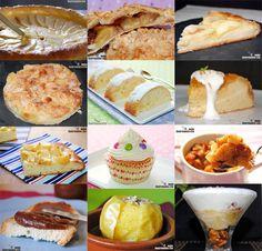 Doce recetas dulces con manzana