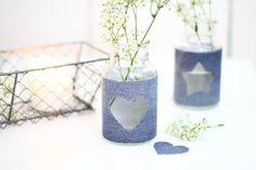 Denim Vase   Jeans Vase Upcycling