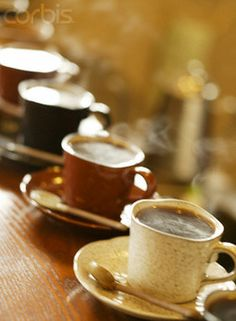 I could enjoy cups of coffee with friends everyday...