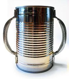 Tin Can and handles...camping cup?