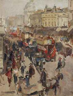 Isaac Israels, Regent Street, London
