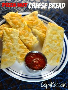 Try this new recipe.  Pizza Hut Cheese Bread from CopyKat.com.