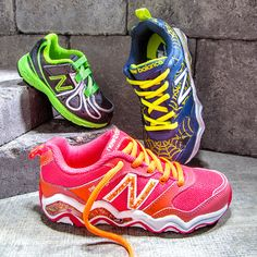 New Balance makes great colorful shoes for kids, I grab them when they're on sale. Great deals on these & more on #Zulily today