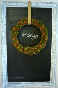 Green Willow Pond: Fall Wreath