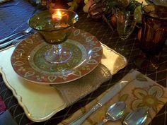 Rustic Elegance - 15 Stylish Thanksgiving Table Settings on HGTV