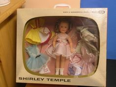 """Complete 12"""" Ideal Shirley Temple Doll TV Box Wardrobe Package *"""
