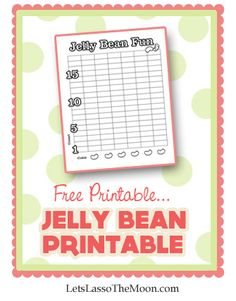 {Free Educational Printable} Jelly bean, jelly bean, in a dish… Do you have a massive supply of post-holiday jelly beans at your house? Me too.Download our free Jelly Bean Fun printable. Do you have other fun suggestions? Let's chat in the comments.