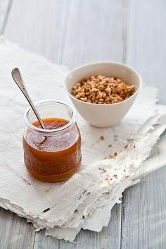 milk jam and macadamias