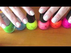 How to create watercolor nails