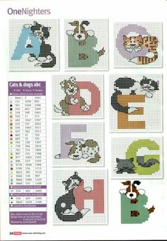 Cats & dogs alphabet