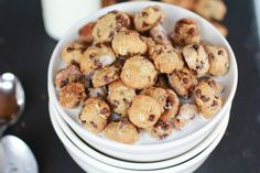 Oatmeal Chocolate Chip Cookie Cereal @Heather Flores Baked Harvest