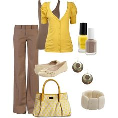 "Cute work outfit. ""work."" by ohsnapitsalycia on Polyvore"
