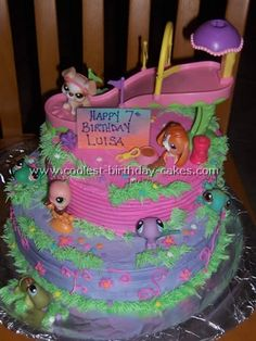 Another Littlest Pet Shop Birthday Cake Idea