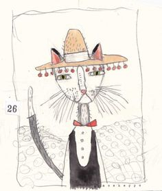 I love this idea for Dr.Seuss's birthday- draw a DIFFERENT cat in a hat!