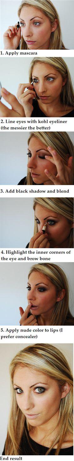 How-to: smoky eye