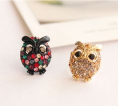 Owl Earring Set ^_^