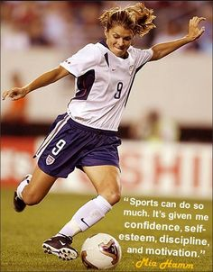 soccer sayings and quotes - Bing Images. So look up to her