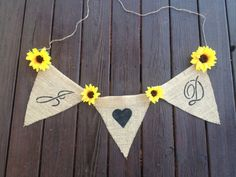 Burlap Banner - Banner Photo Prop - Wedding Burlap Banner - Shabby Chic Rustic Wedding Decor.