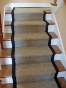 <3 this look. wonder if i could do this to my carpeted stairs?