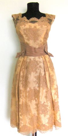 1950's Chantily Lace Dress
