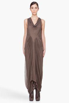 Oh how gorgeous is this! Drape Dress #topfashion #kathyna257892 #DrapeDress #Drape  #Dresses #summerdress www.2dayslook.com