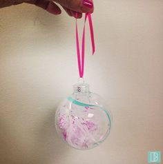 #DIY ornament