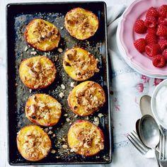 Peach & Raspberry Crisp - Healthy & Easy Recipes