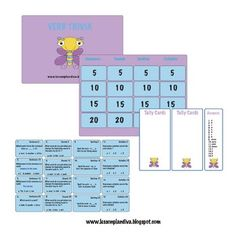 This is a Jeopardy-like game. First laminate all pages and cut out the question cards and tally recording cards. The students use the game boar...