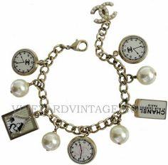 chanel charm bracelet