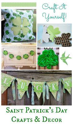 St. Patrick's Day Crafts & Decor