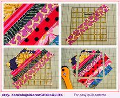 String Quilts 101 - Selvage Blog how-to. So much fun!