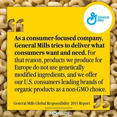Join us in calling on Cheerios to remove GMOs from their cereals. More Here: https://www.facebook.com/Cheerios