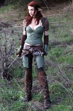 """Felicia Day as Tallis in """"Dragon Age: Redemption"""""""