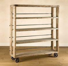 DIY shoe cart furniture