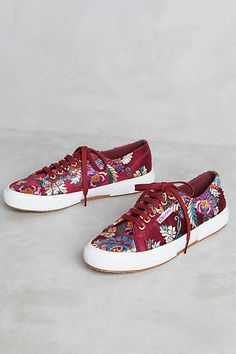 Superga Embroidered