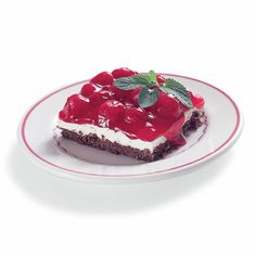 V-day cherry cheesecake